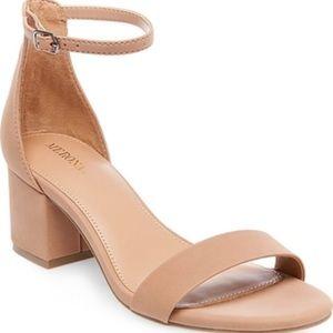 Merona || Marcella low block heels